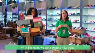 Personas by Segment: Returned shoes (30 sec)