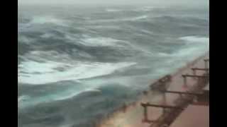Шторм в океане.Видео друга-моряка Сани Ковалева