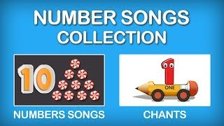 Numbers Song Collection for Children | Numbers Rhymes for Children