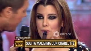 Charlotte Caniggia pasada de copas y esta vez, Solita no la perdonó