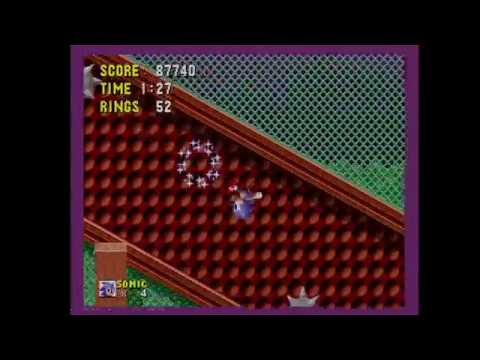 Let's Play Sonic 1 with upside-down Sonic (Game Genie!)