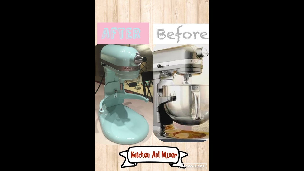 diy paint your mixer kitchen aid youtube