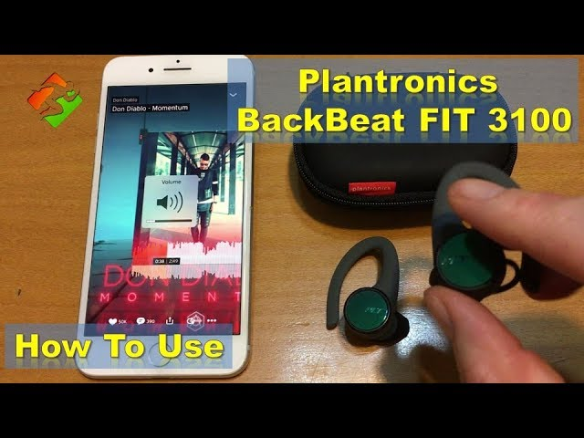 Plantronics Backbeat Fit 3100 How To Use Youtube