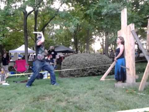 Impalement Act BuskerFest 2014