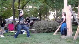 Impalement Act BuskerFest 2014