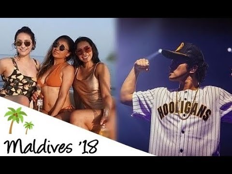 Jessica Caban And Bruno Mars In Maldives With Eric And Cindia