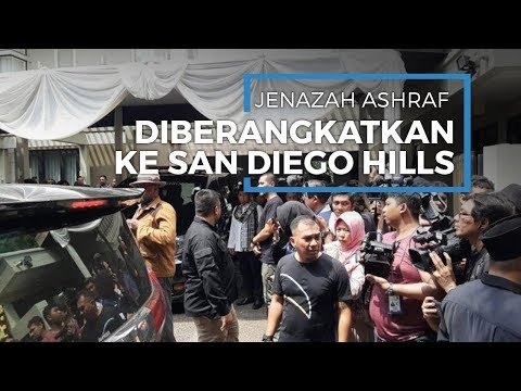 Dibawa ke Pemakaman San Diego Hills, BCL Tak Dampingi Ashraf di Mobil Jenazah