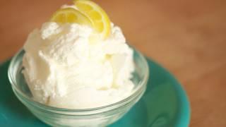 Homemade Lemon Ice Cream Recipe