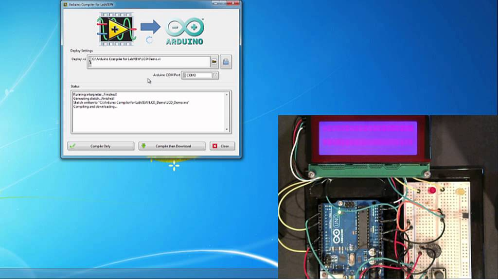 The Arduino Compiler for LabVIEW