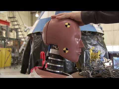 NASA crash-test dummies take a beating to make aviation safer