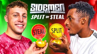 SIDEMEN $100,000 SPLIT OR STEAL