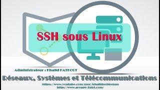 SSH sous Linux (KHALID KATKOUT)