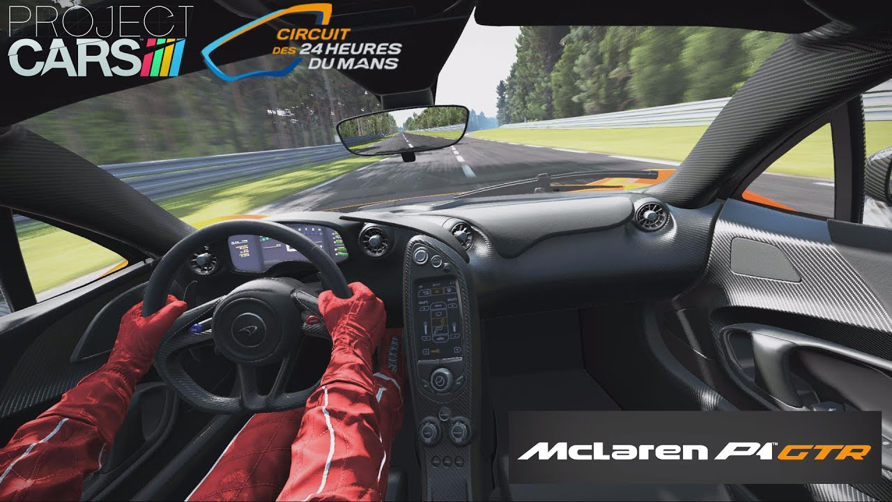 Project cars circuit de la sarthe mclaren p1 2 - Project cars mclaren p1 ...