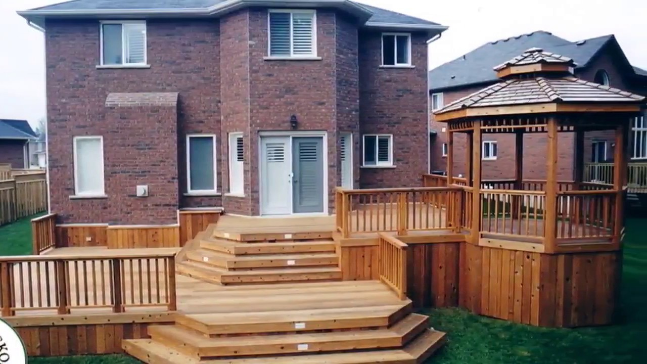 Wonderful Deck Designs For Split Level Homes Youtube