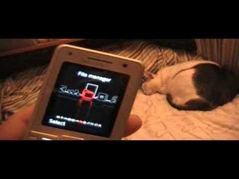 Sony Ericsson K770i Flash Menu