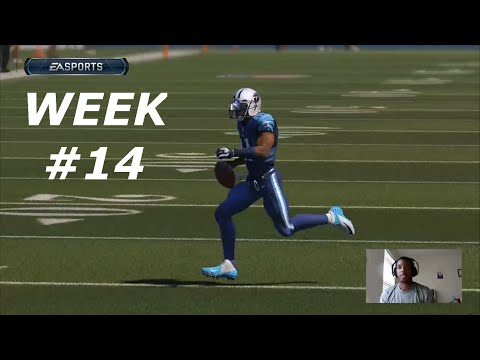 Madden 15 Connected Franchise QB: Week 14 New York Giants vs Tennessee Titans- 600 YARDS!!!