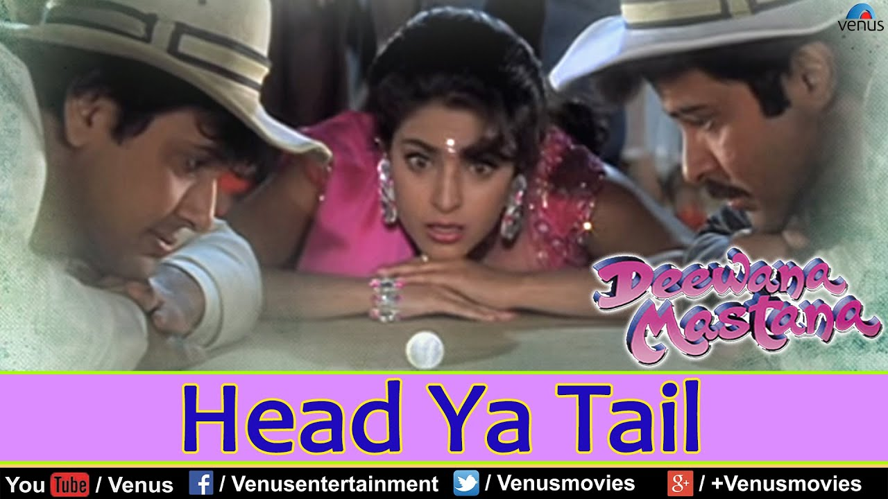 Download Head Ya Tail Full Video Song : Deewana Mastana   Govinda, Anil Kapoor, Juhi Chawla  