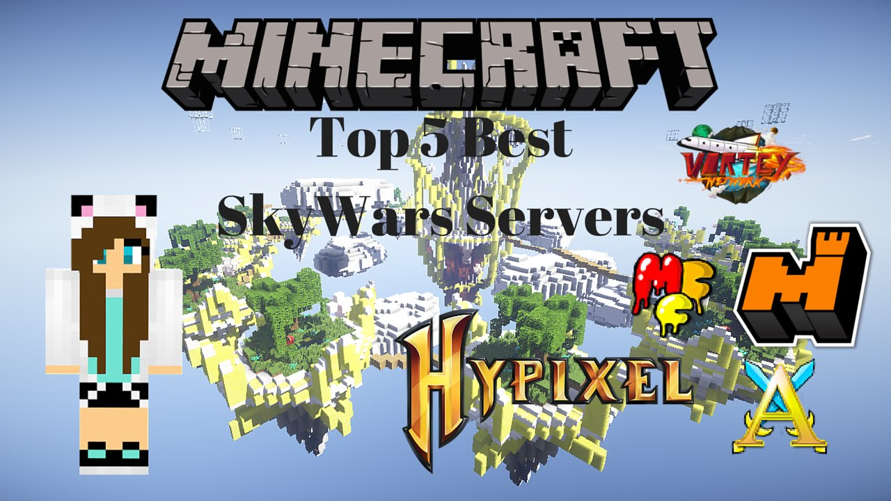 Top 5 Best SkyWars Servers - YouTube