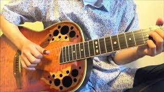 12弦ギターの1弦が1本切れたのでナッシュビルチューニングにして遊...