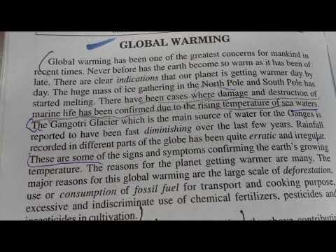 global warming introduction paragraph