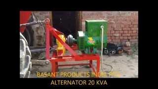 Tractor - PTO Generator www.vidhatagroup.com