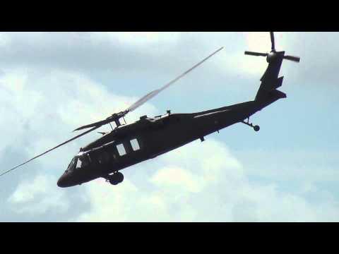 Black Hawk Demo 100 ปีการบิน @ ดอนเมือง