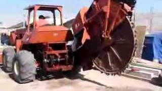 zanjadora ditch witch r-100 2