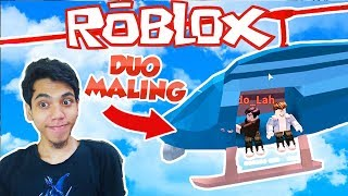 KOCAK DUO CAN FINALLY MALING SAFELY WKWK-ROBLOX JAILBREAK #3