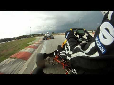 Trofeo Nazionale Karting 2011 Triscina Finale 125 Simone Colombo Onboard Cappottamento Kart Crash