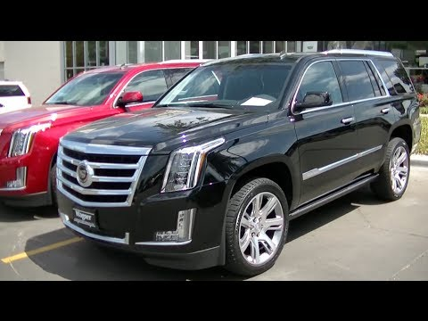 2015 Cadillac Escalade Premium 4x2 Walkaround Youtube