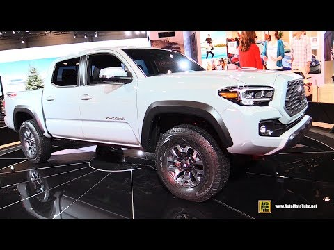 2020 Toyota Tacoma TRD Off Road - Exterior and Interior Walkaround - 2019 Chicago Auto Show