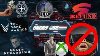 AJS News - Game Awards Controversy, No VR for Xbox, Fallen Order & Star Citizen Record Sales!