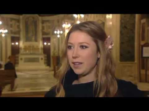 Kiwis gather at Westminster Cathedral in London - Hayley Westenra