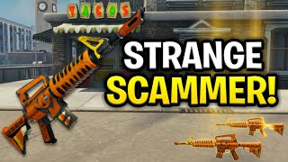 Strange Lying Scammer Scams Himself! (Scammer Get Scammed) Fortnite Save The World