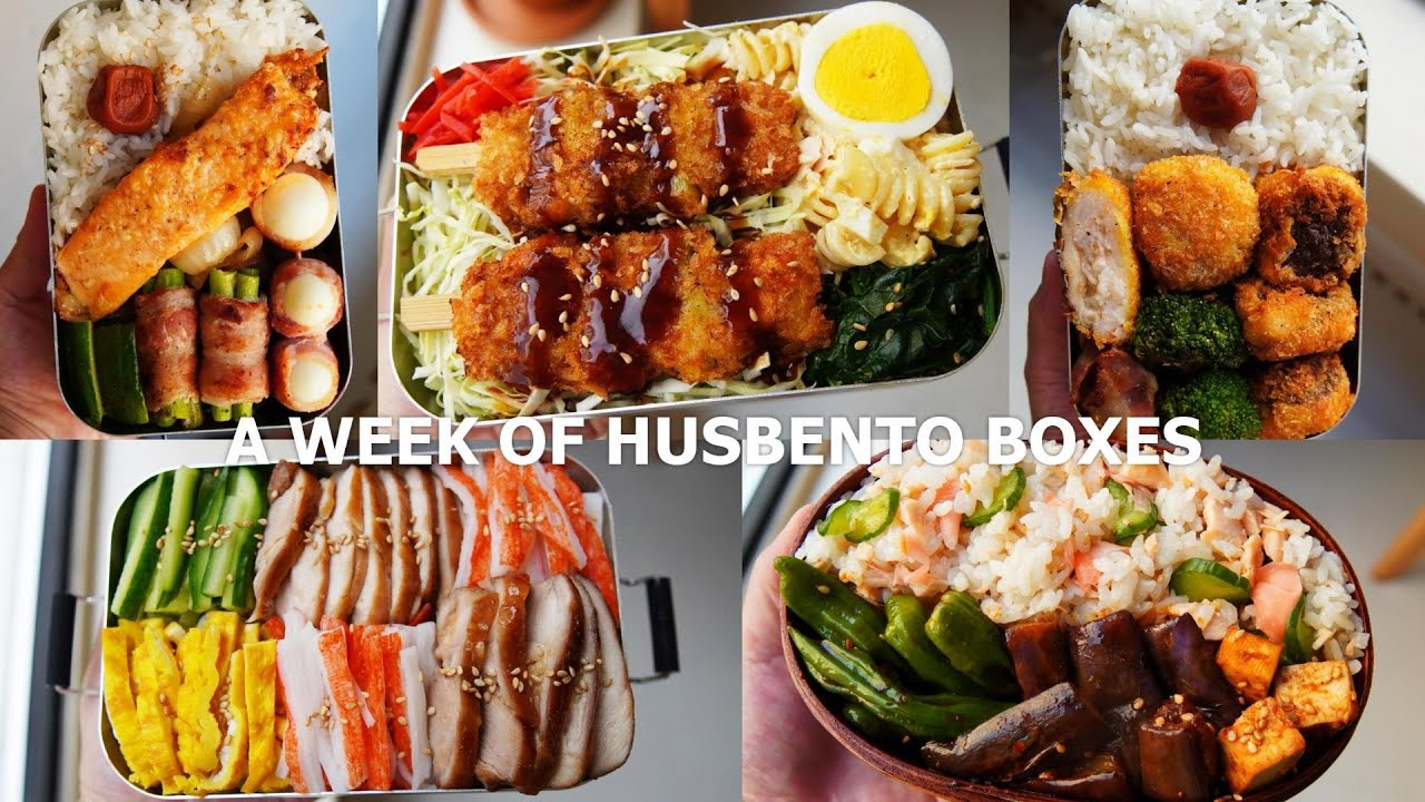 [ #25 A WEEK OF HUSBAND BENTOS ] the best combi? fried food and cabbage 🥬👯♂️
