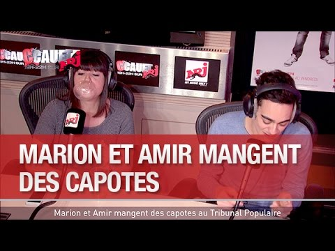 Marion et Amir mangent des capotes au Tribunal Populaire - C'Cauet sur NRJ