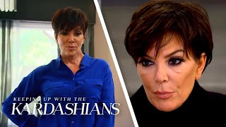 5 Times Kris Jenner Couldn't Avoid Family Drama | KUWTK | E!