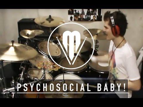 Justin Bieber vs SlipKnot- Psychosocial Baby ! drum cover by Veress Márton