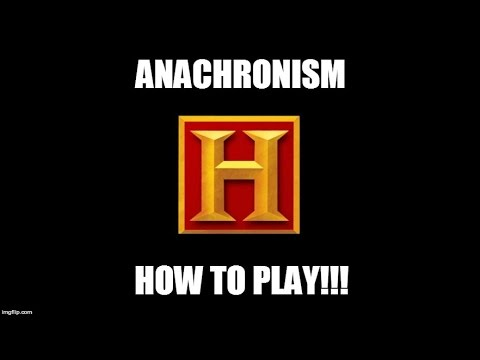 Anachronism Learn to Play part 1! The basics