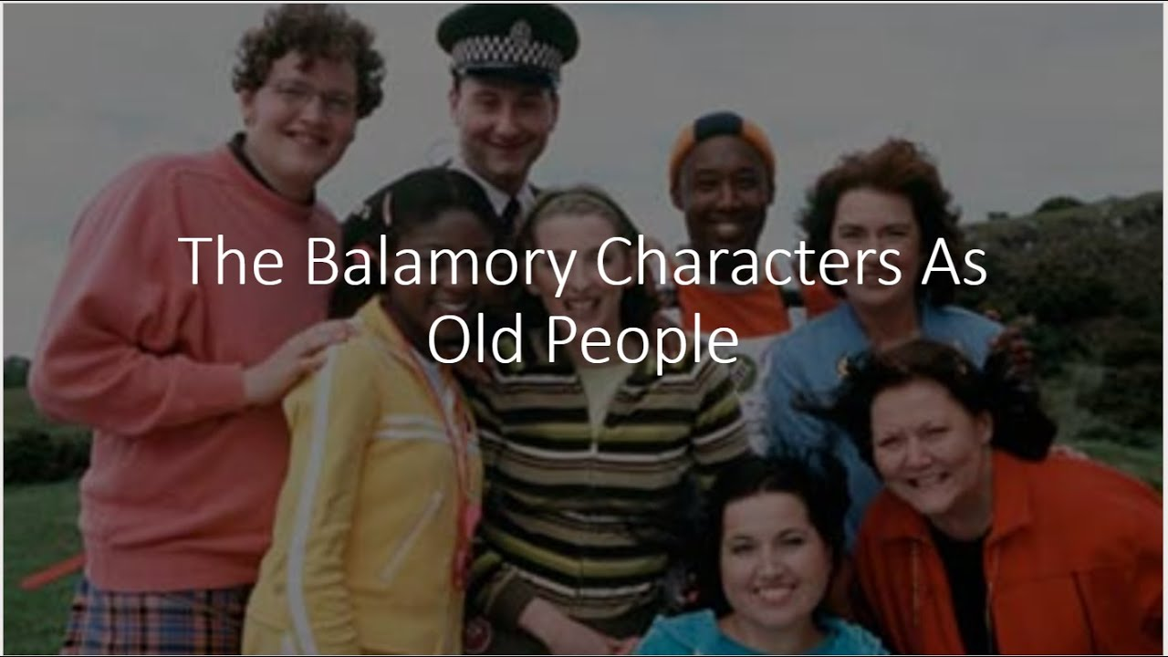 The Balamory Characters As Old People