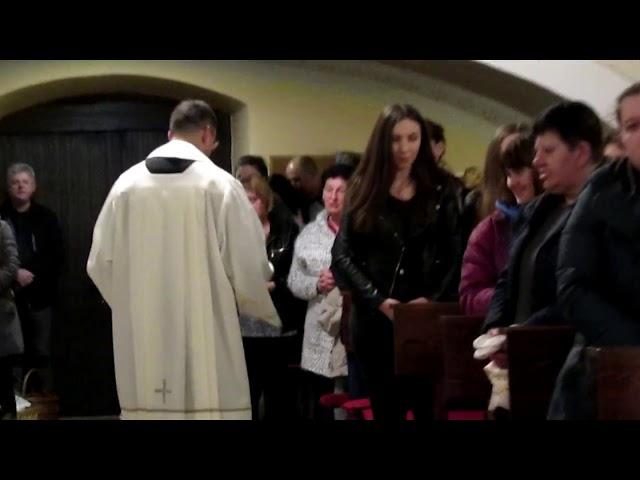 Blagoslov jela u crkvi