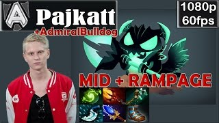Pajkatt (Alliance) - Outworld Devourer Pro Gameplay Dota 2 | + EZ RAMPAGE | MMR @60fps