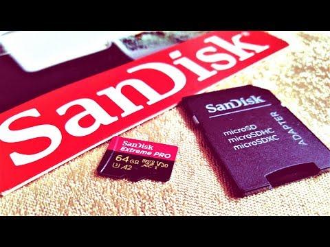 Тесты Sandisk MicroSD от Extreme Pro до  Ultra на скорость чтения и запись!)