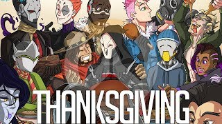 Thanksgiving | Overwatch Comic Dub (ft. SeigiVA, Millie VA, C_Squint)