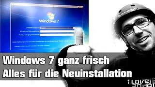 PC neu aufsetzen Windows 7