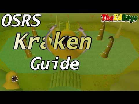 OSRS How I Fight The Kraken | Old School Runescape Kraken Guide
