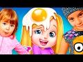 Даша ГОТОВИТ ВКУСНУЮ ЕДУ Девочка играет в детскую игру Поварята Развлекательный мультик игра mp3