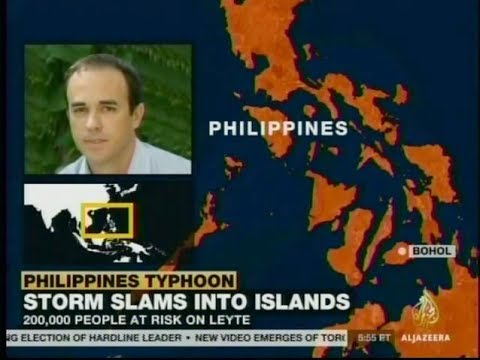 CRS' Joe Curry Interview with Al Jazeera America about Typhoon Haiyan