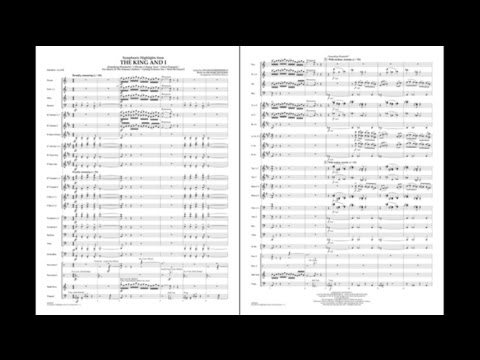 Symphonic Highlights from The King and I arr. Stephen Bulla