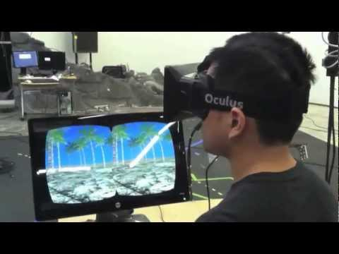 Early Integration of Oculus Rift development kit with PTSD exposure therapy system at USC ICT
